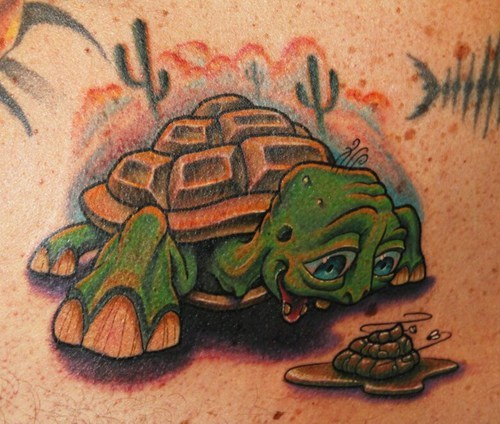 gross turtles tattoos why funny - 7620742656