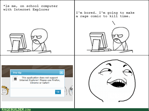 browser google chrome mozilla firefox making rage comics internet explorer - 7621293312