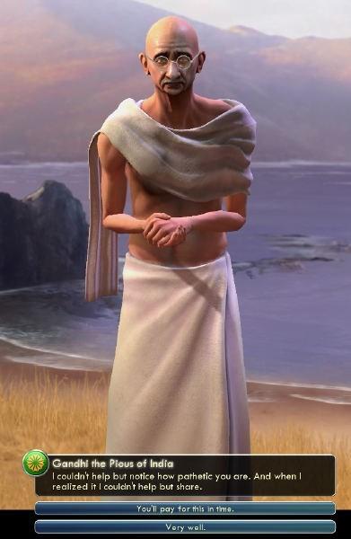 civilization scumbag wtf gandhi - 7621360640