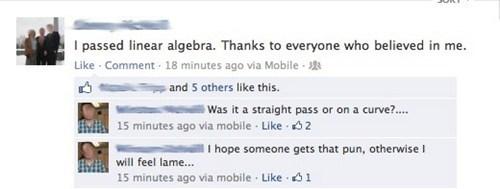 linear algebra puns algebra - 7622409472