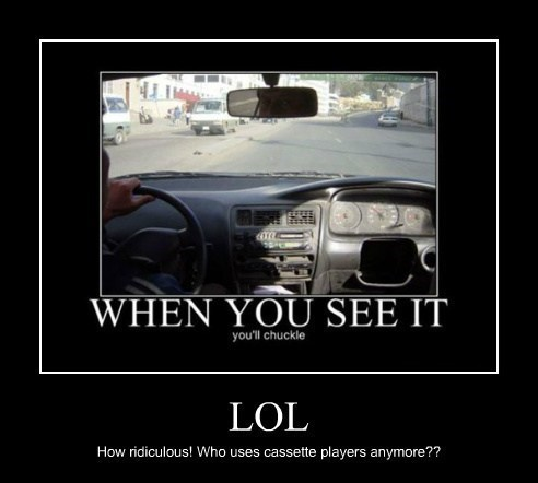 when you see it cassettes old cars funny - 7622583552