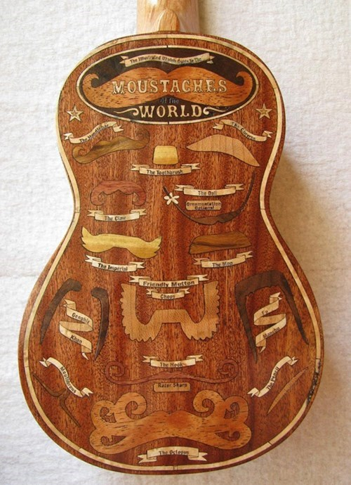A Moustache Ukulele: Most Hipster Thing Ever?
