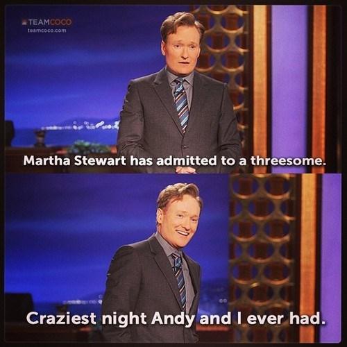 Martha Stewart andy richter conan o' brien - 7622612736