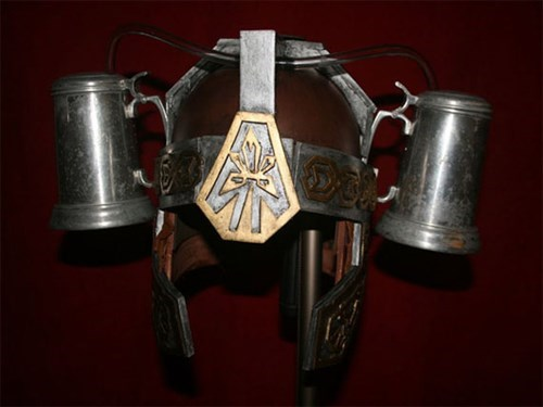 barbarian medieval beer helmet funny after 12 g rated - 7622648320