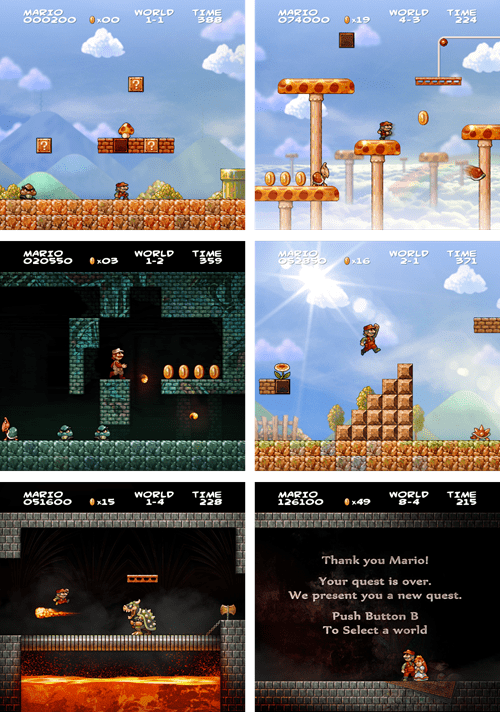 What if an HD Version of Super Mario Bros. Was Created Today?