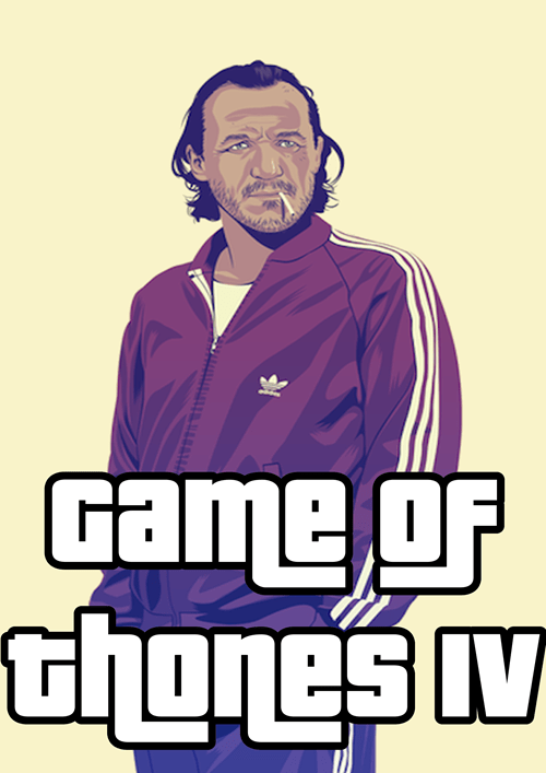 bronn Game of Thrones Mike Wrobel Grand Theft Auto - 7622956544