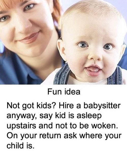 Babies babysitter parenting