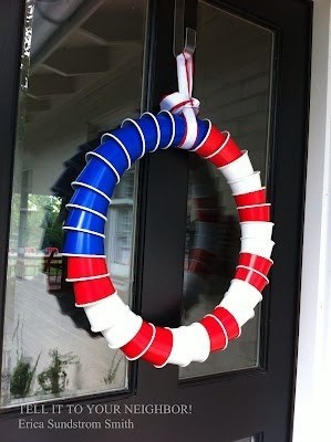 solo cup cups design 4th of july wreath funny g rated win - 7623102464