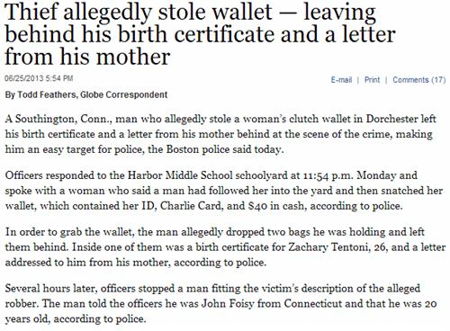 news criminally dumb criminals Probably bad News funny - 7623107840