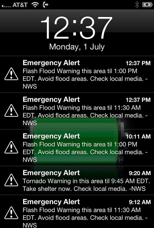 emergency iPhones alerts funny - 7623138560