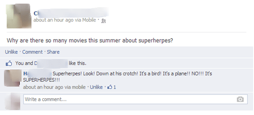 superherpes herpes superheroes failbook - 7623285760