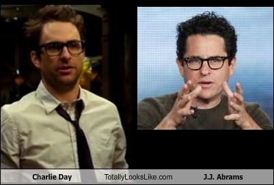 JJ Abrams glasses charlie day totally looks like funny - 7623295232