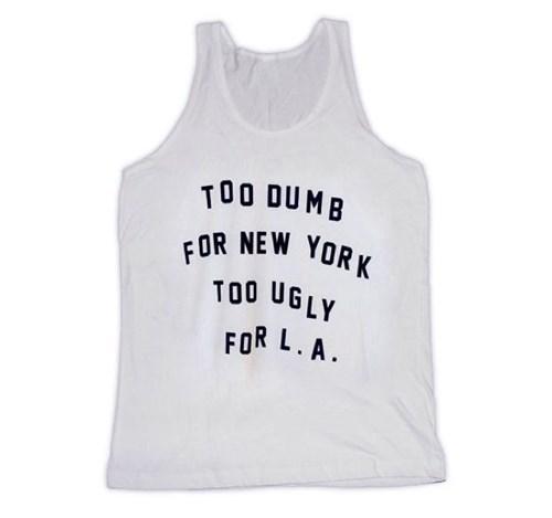 LA,tshirts,new york,funny