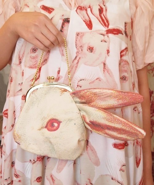 purses matching funny rabbits - 7623339776