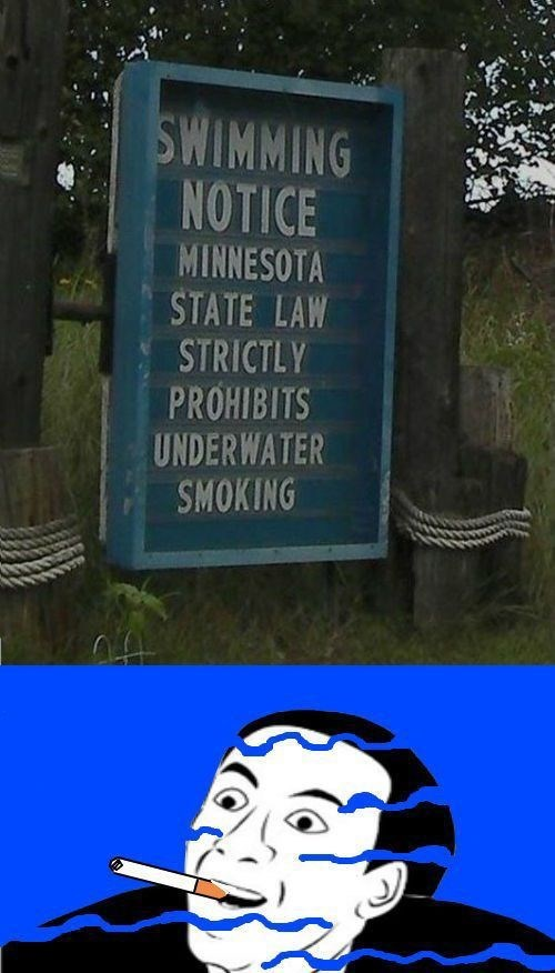 sign laws you dont say swimming funny fail nation g rated