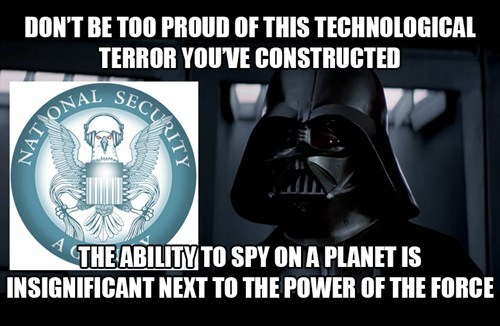 NSA,star wars,darth vader