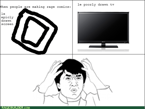 epicly drawn making rage comics poorly drawn Jackie Chan - 7624126208
