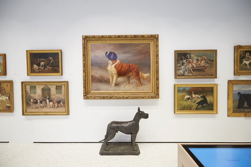 dogs art new york museum - 7624197
