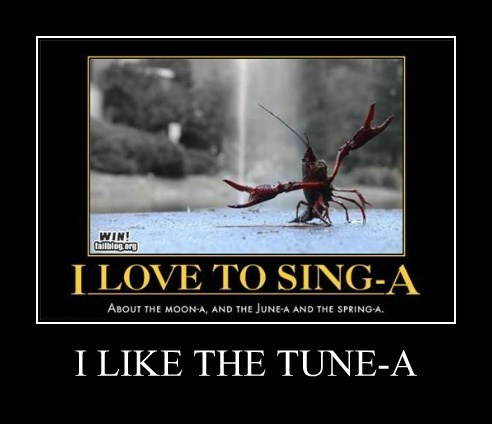 lobster,song,funny