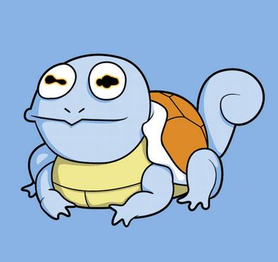 Pokémon squirtle futurama hypno-squirtle - 7624401408