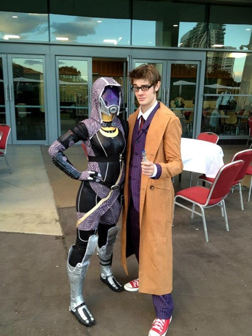 cosplay mass effect doctor who - 7625003776