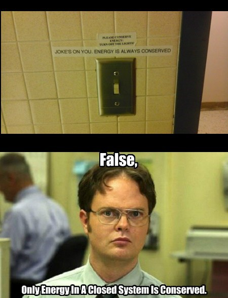 signs dwight schrute funny energy - 7625079808