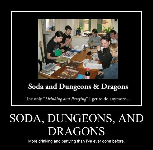 drinking Party funny dungeons and dragons - 7625147136