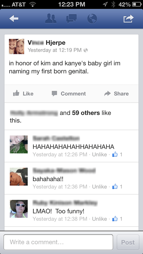 baby names kanye west genital herpes north west herpes kim kardashian - 7625244160