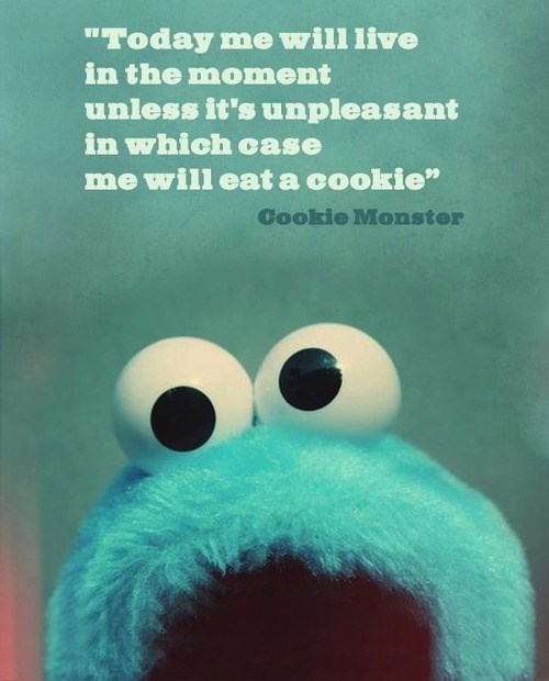 quotes Cookie Monster Sesame Street - 7625318912