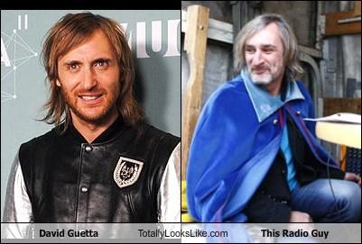david guetta,radio guy,totally looks like,funny