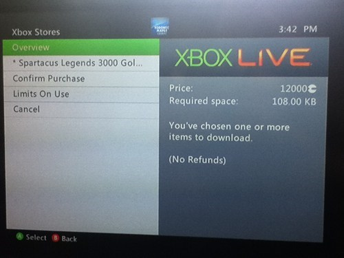 microsoft points,dafuq,spartacus legends