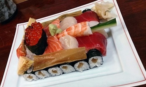 sushi design tank food funny - 7625746688