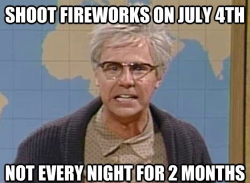fireworks,fourth of july,dana carvey