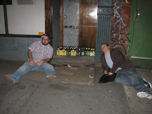 beer passed out idiots funny - 7625926912
