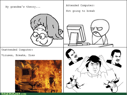 computers grandma virus grandmother
