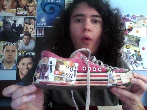 one direction shoes funny fan boys - 7626096128