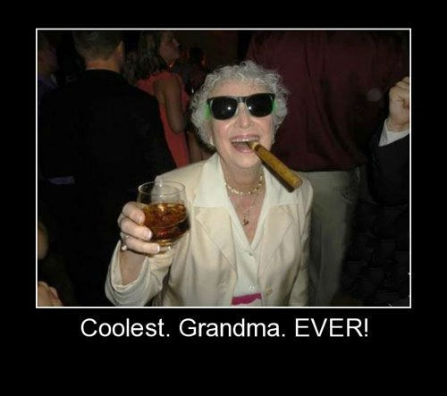 awesome grandma Party funny - 7626189824