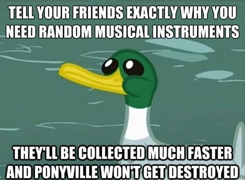ponified friendly advice duck Memes - 7626524160