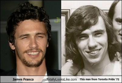 toronto,pride,James Franco,totally looks like,funny