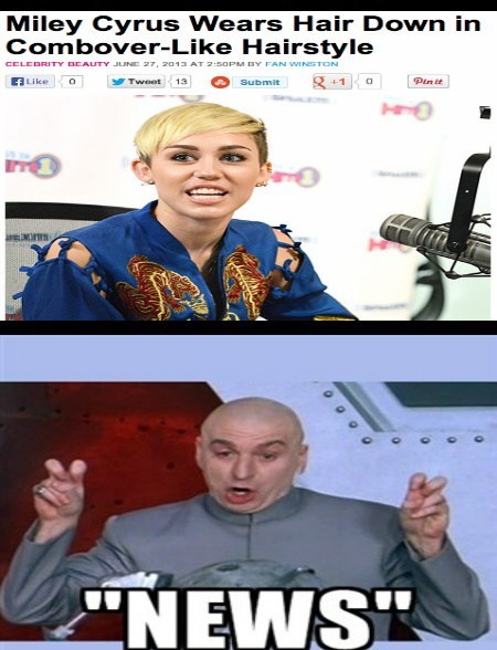 news dr-evil miley cyrus funny - 7627247872
