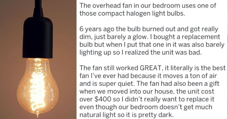tifu guy living in darkness until hilarious discovery