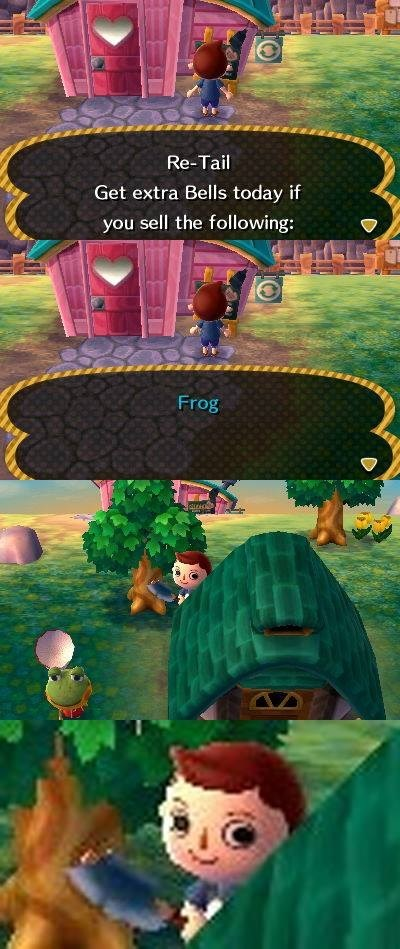 animal crossing frogs - 7628339712