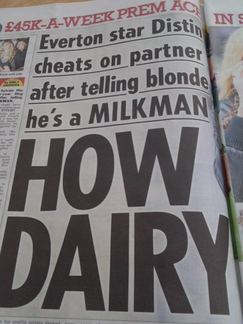 dairy puns headlines funny - 7628464384