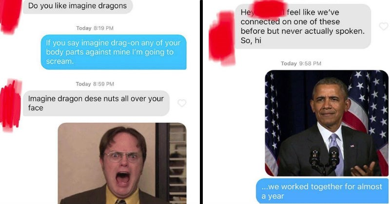 random moments from tinder