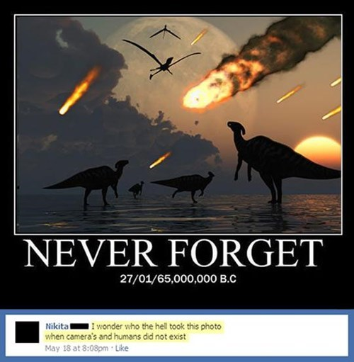 never forget dinosaurs