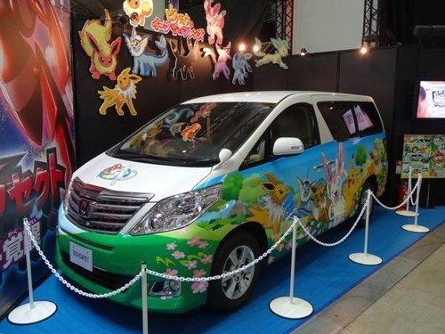 The Eeveelutions Car