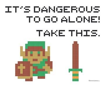 DIY,video games,cross stitch