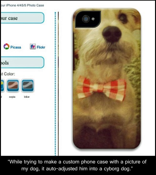 dogs cyborgs iPhones iphone covers funny - 7628812288