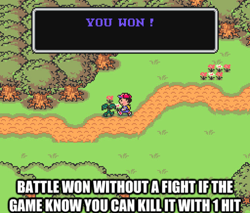 mother,RPGs,earthbound,battles