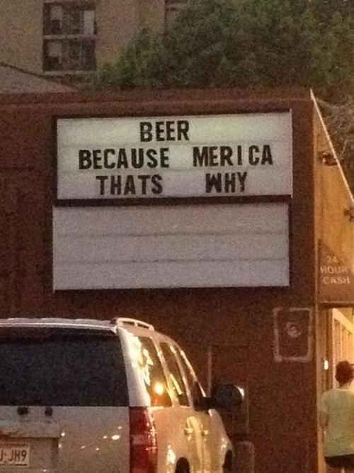 beer sign 4th of july funny g rated win - 7628839680